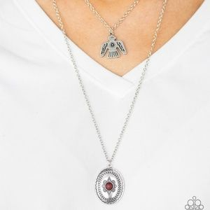 Red Eagle Necklace